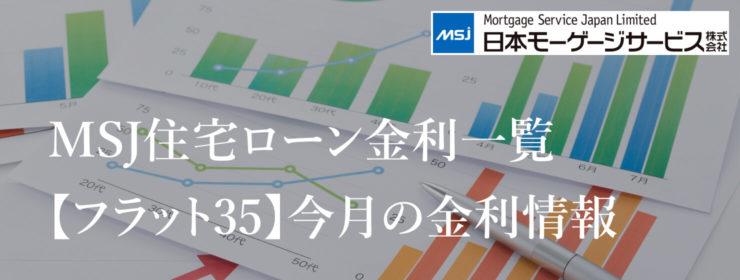 最長35年固定金利住宅ローン【フラット35】今月の金利情報